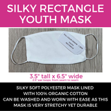 Silky Mask Slanted Stripes