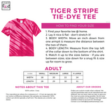 Hope Love Cure Tee - Pink Tiger Stripe