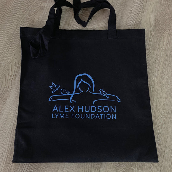 Alex Hudson Lyme Foundation Black Tote Bag