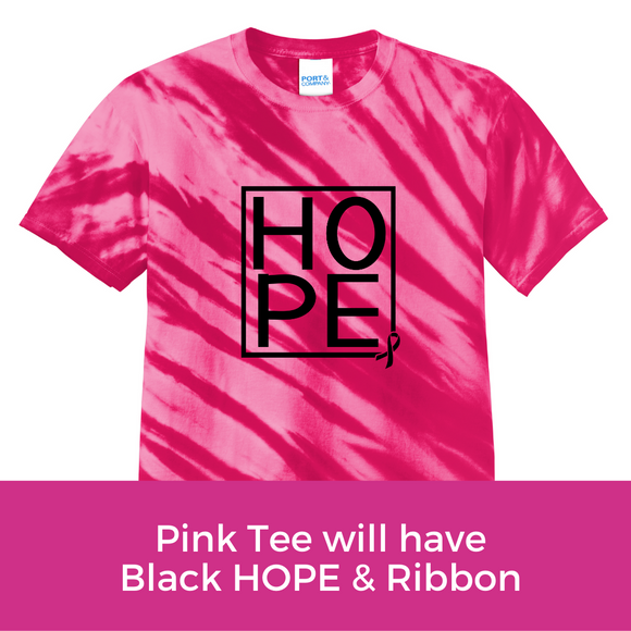 Hope Tee - Pink Tiger Stripe