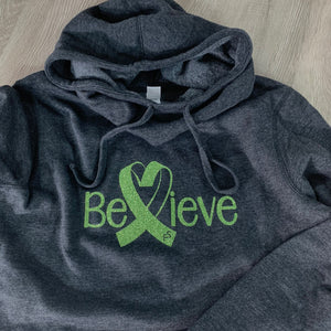 Alex Hudson Lyme Foundation Believe Ladies Slouch Hoodie