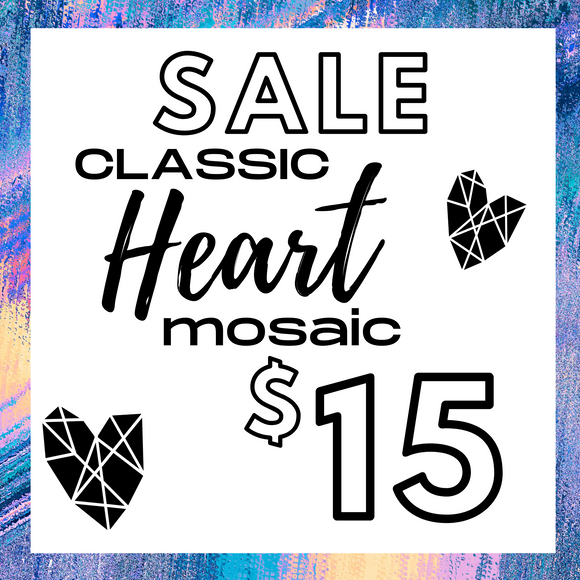 SPECIAL Classic Heart Mosaic