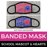Banded Mask Hearts