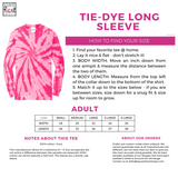 Love Tee - Pink Tie Dye Long Sleeve