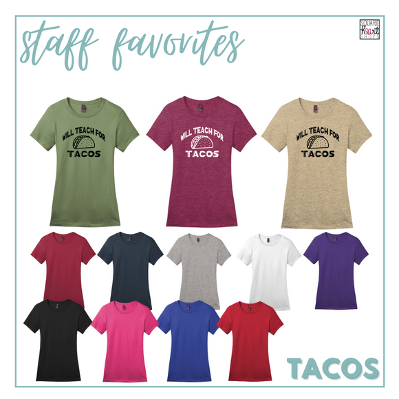 Educator Gear - Tacos