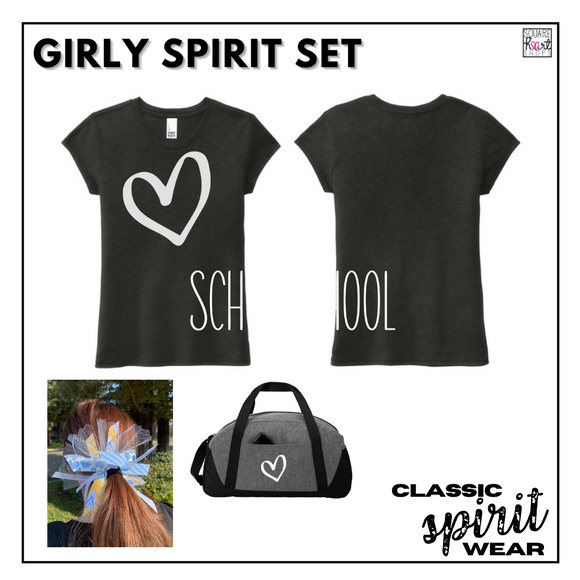 Classic SpiritWear - Girly Spirit Set