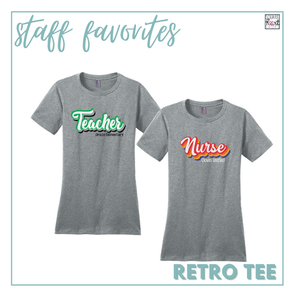 Educator Gear - Retro Tee