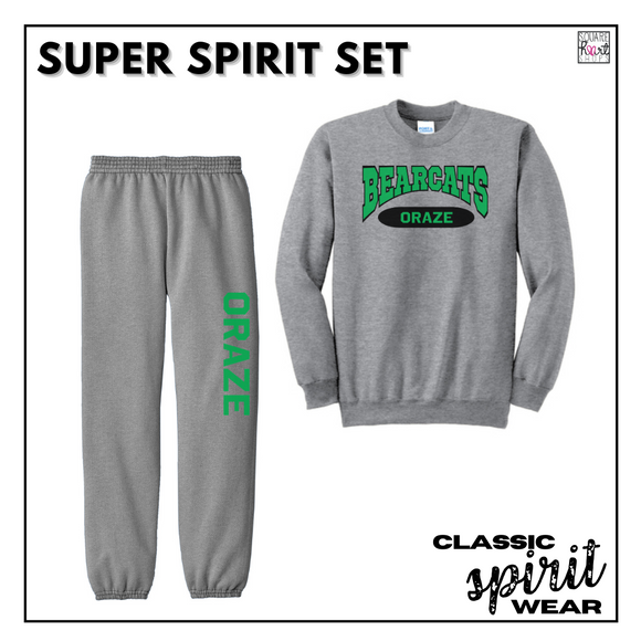 Classic SpiritWear - Super Spirit Set