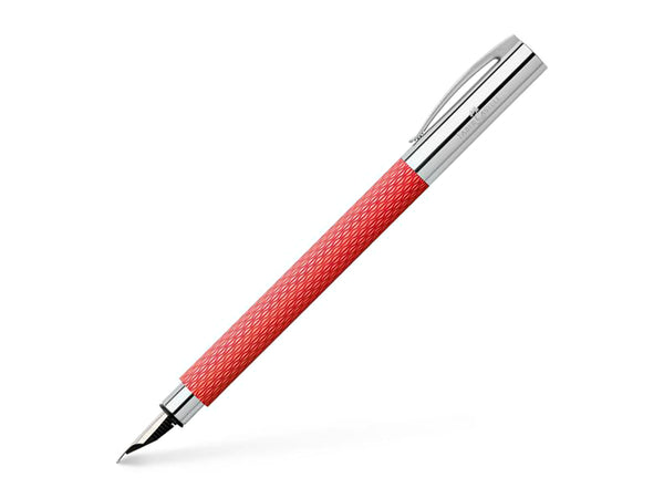 Faber Castell AMBITION Fountain Pen OpArt Flamingo