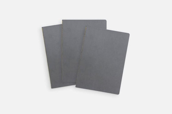 Baron Fig Vanguard Notebooks / 3 Pack Charcoal