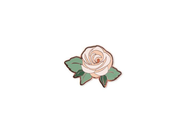 Rose Enamel Pin
