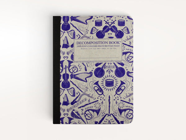 Notebooks - Acoustic Decomposition Book - Michael Roger Press - 1