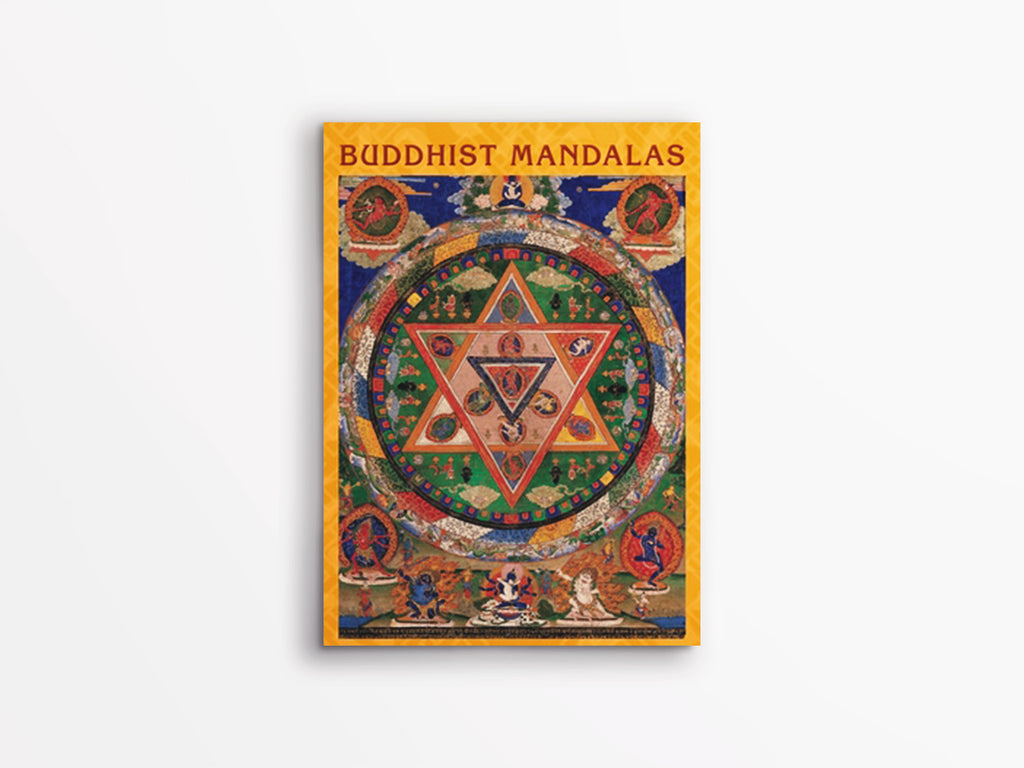 Buddhist Mandalas Notecards Box of 20