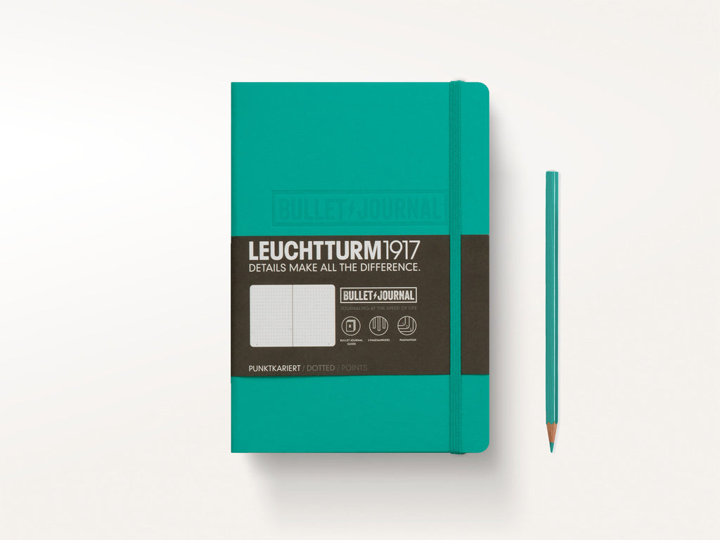 Leuchtturm 1917 Notebook: Bullet Journal Edition - Emerald