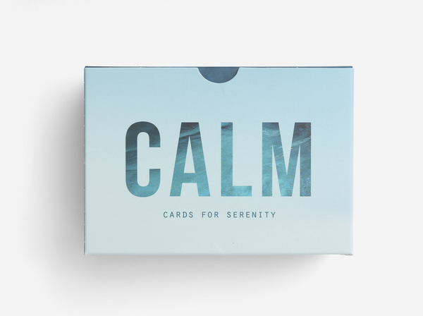 The School of Life Prompt Cards: Calm