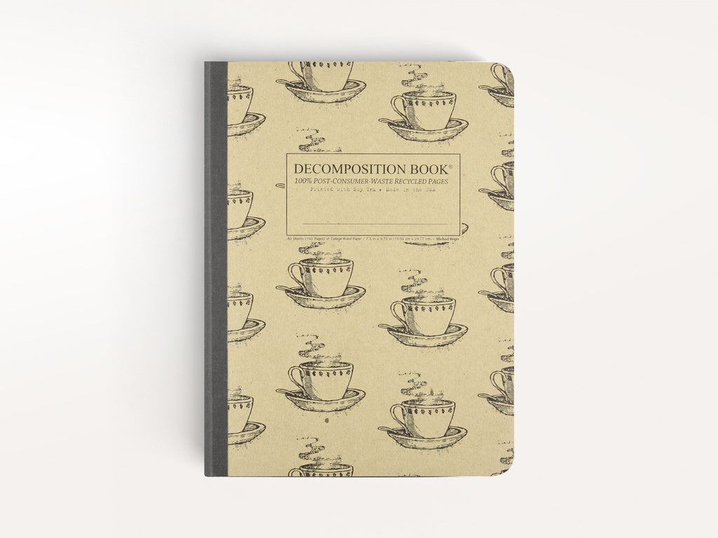 Notebooks - Coffee Cup Decomposition Book - Michael Roger Press - 1