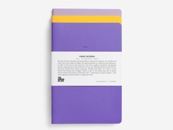 The Feminists Notebooks Set of 3