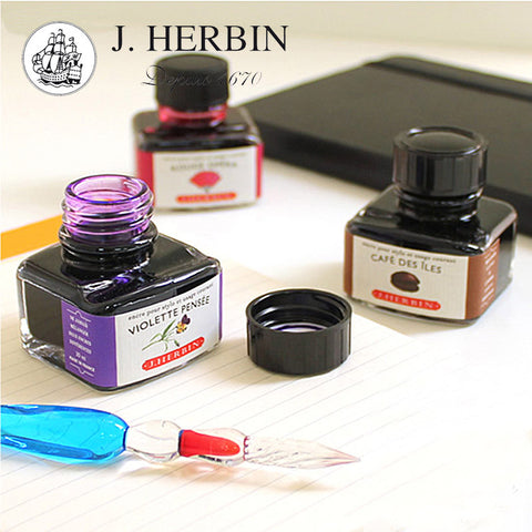 J Herbin Ink Bottle - 30 ML