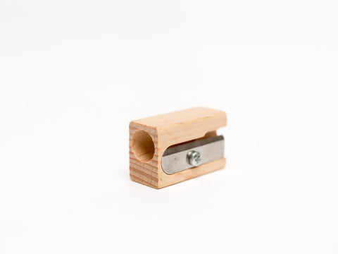 Beechwood Pencil Sharpener