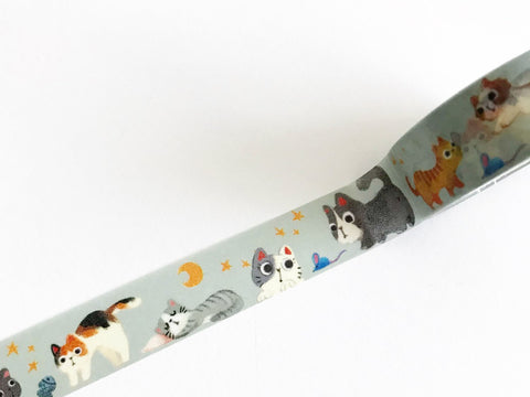 Meow Cats Washi Tape