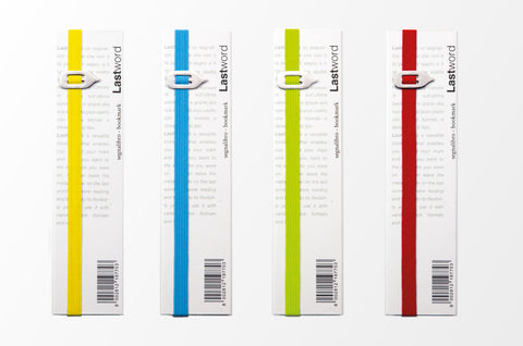 LastWord Elastic Bookmark Assorted Colors