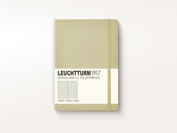 Leuchtturm 1917 Hardcover Notebook Sand