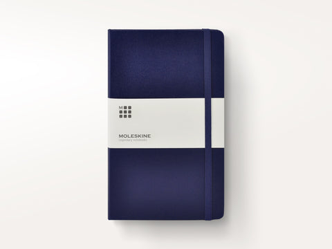 Classic Hardcover Moleskine Notebook - Sapphire Blue