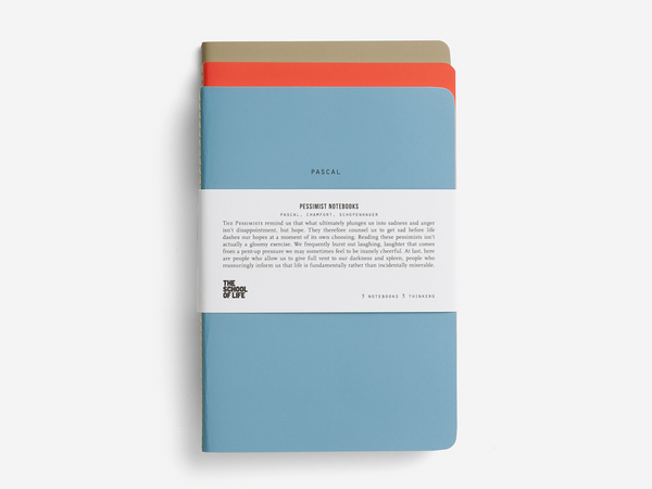 The Pessimists Notebooks Set of 3