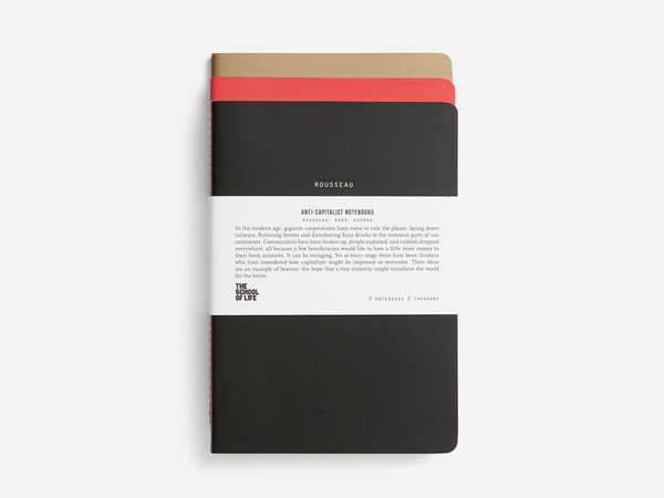 The Anti-Capitalists Notebooks Set of 3