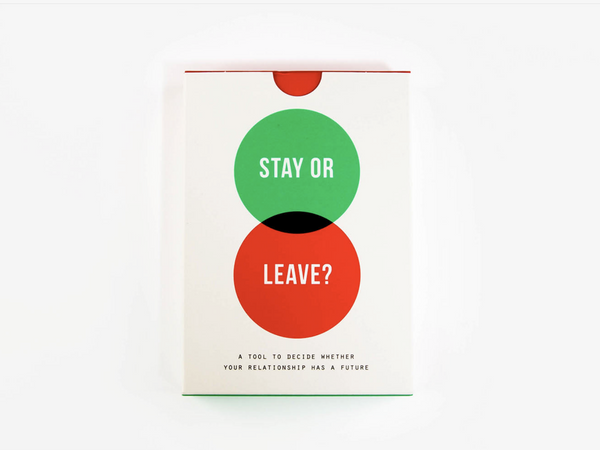 The School of Life Card Game - Stay or Leave?