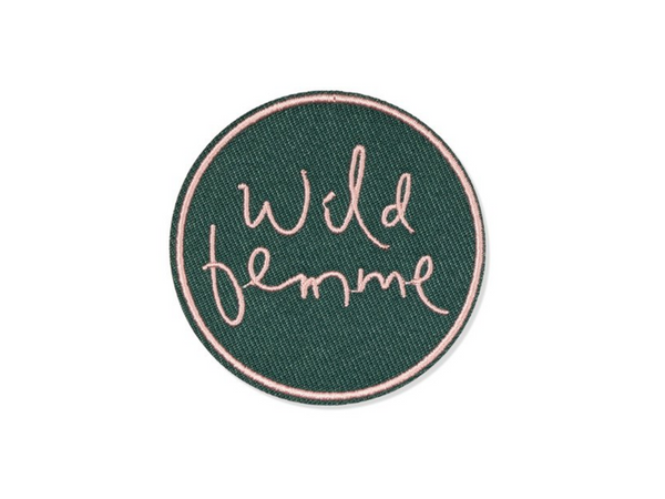 Wild Femme Embroidered Patch