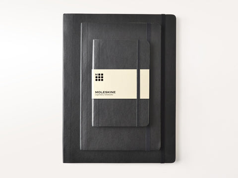 Moleskine Soft Cover Notebooks - Black