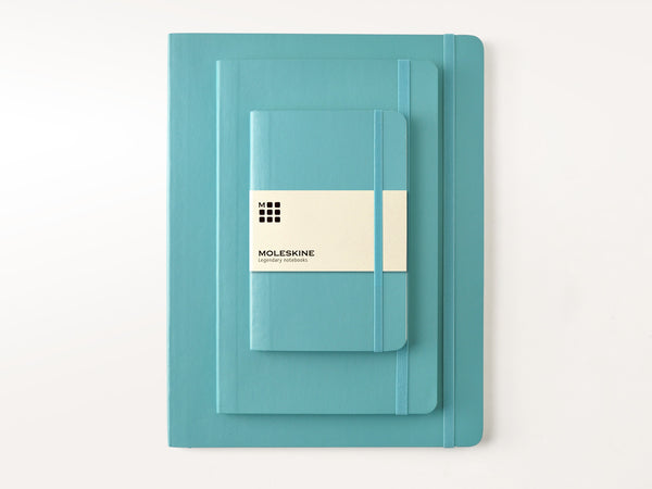 Moleskine Soft Cover Notebooks - Reef Blue