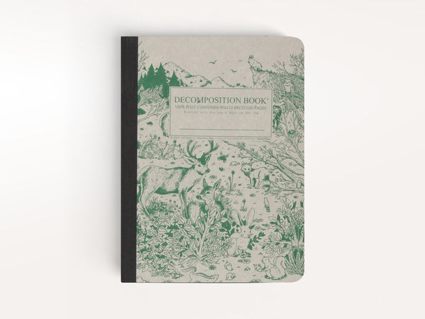 Notebooks - Spirit Animal Decomposition Book - Michael Roger Press - 1