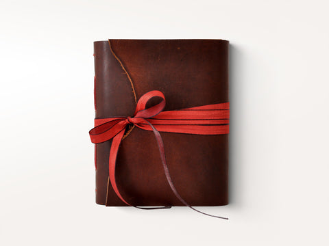 One of a Kind Leather Artist Journal - Small