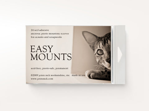 Easy Mount Self Adhesive Photo Sleeves