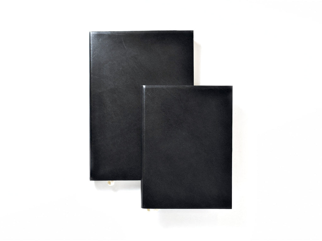 Black Leather Executive Journal-Journals-Jenni Bick Bookbinding-Jenni Bick Custom Journals