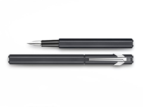 Caran D'Ache 849 Metal Fountain Pen Black