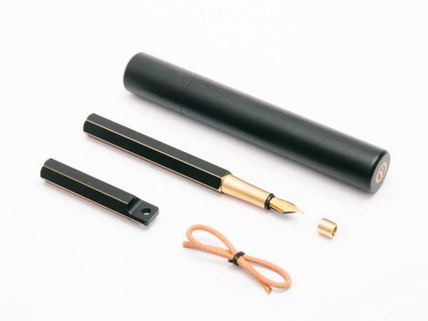 Ystudio Brassing Fountain Pen Portable