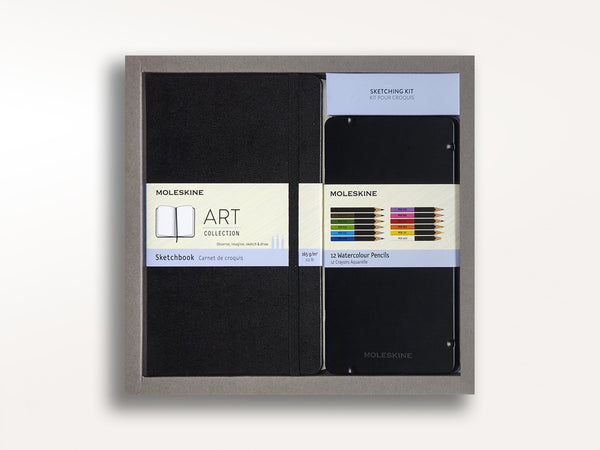 Moleskine Art Color Sketching Kit