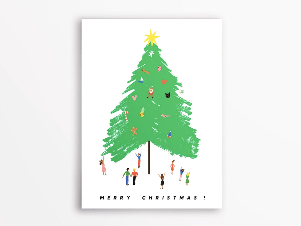 Giant Tree Holiday Cards Box of 8