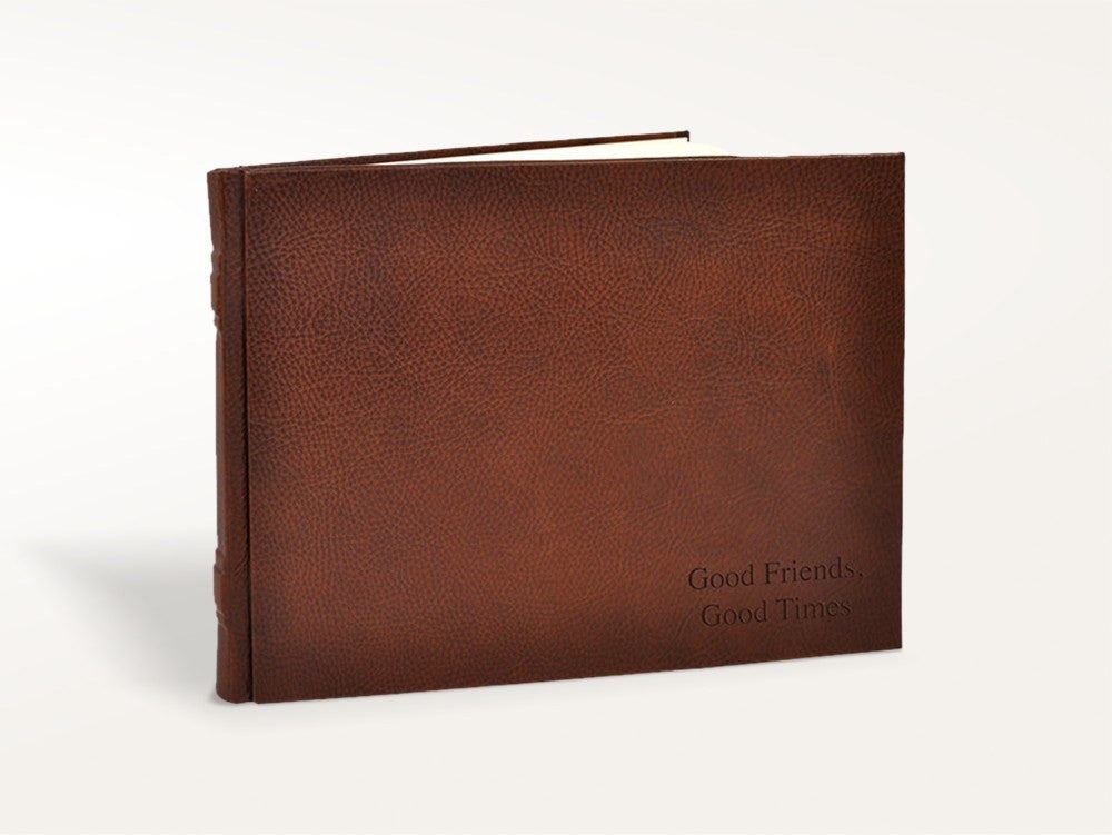 Guest Books - Italian Leather Guest Book - Fiorentina - 1