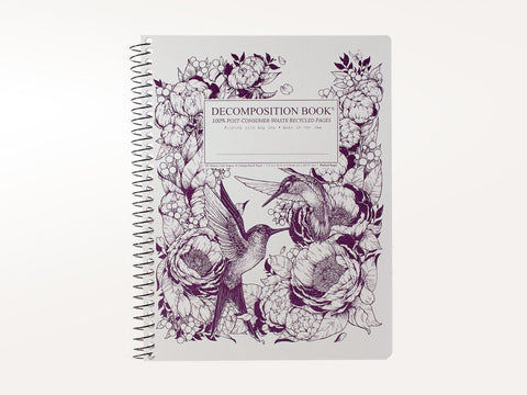 Hummingbirds Decomposition Book