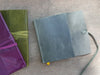 Islander Leather Journal - Violet-Journals-Jenni Bick Bookbinding-Jenni Bick Custom Journals