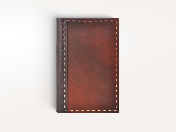 Journals - Handstitched Rustic Leather Moleskine Cover - Jenni Bick Bookbinding - 1
