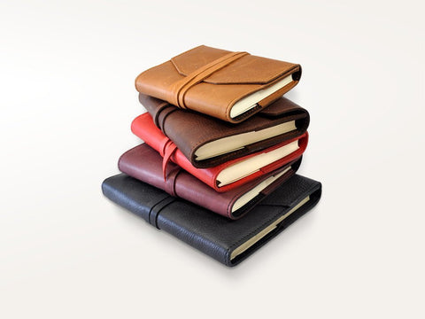 Laccio Refillable Calfskin Leather Journal