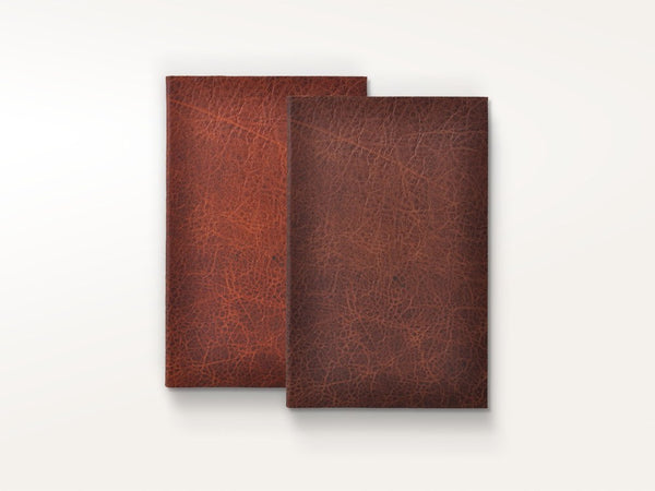 Journals - One of a Kind Minimalist Leather Journal - Jenni Bick Bookbinding - 1