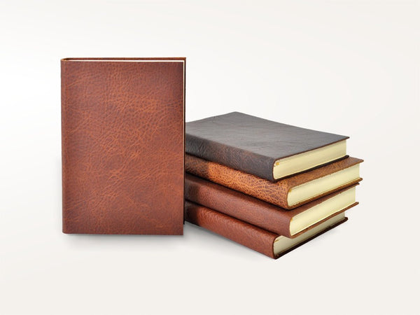 Journals - Rustic Leather Base Camp Journal - Jenni Bick Bookbinding - 1