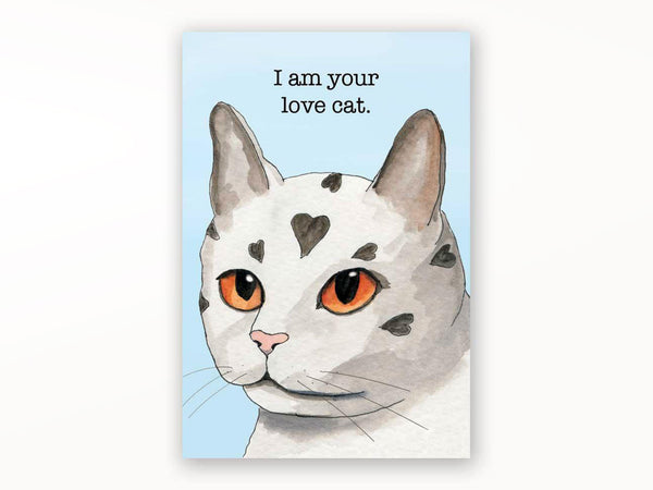 I Am Your Love Cat Magnet