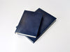 Manhattan Navy Blue Leather Journal-Journals-Jenni Bick Bookbinding-Jenni Bick Custom Journals